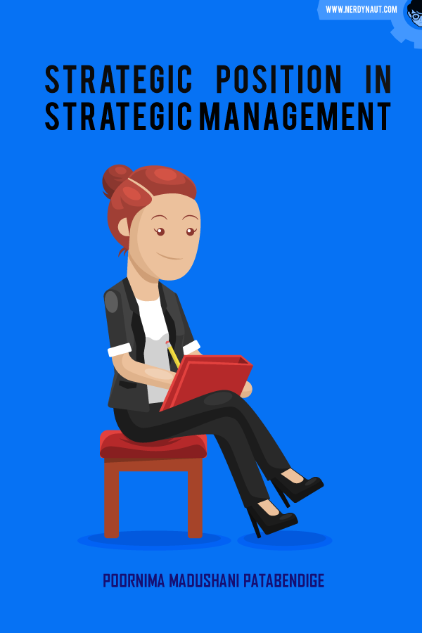 Strategic Position in Strategic Management book front cover